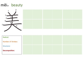 Chinese Character Unit: Art