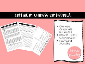 Chinese Cinderella- Adjectives and Setting