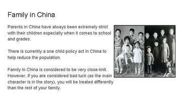 Chinese Cinderella: Prior Knowledge & Building Background
