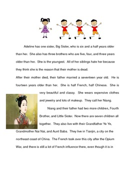Chinese Cinderella by Adeline Yen Mah Modified Reading