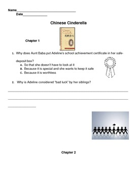 Chinese Cinderella by Adeline Yen Mah Modified Reading Questions