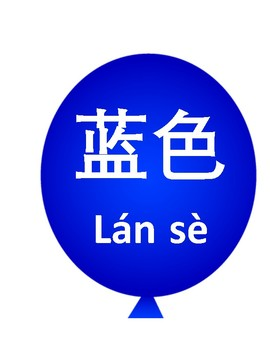Chinese Color Posters with pinyin