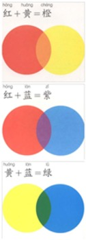 Chinese  Color lesson plan