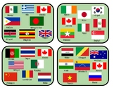 """Chinese- Countries """"Spot It"""" Game"""