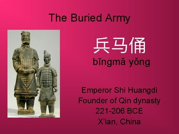 Chinese Culture: The Buried Army