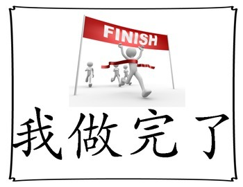 Chinese Daily/Survival Language Posters- Landscape