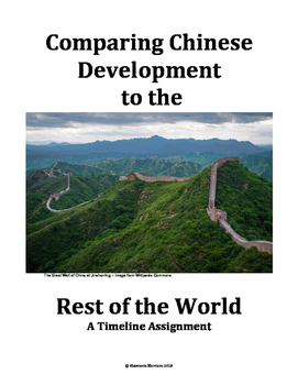 Chinese Development in Comparison to the World:  A Timeline Assignment