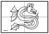 Chinese Dragon, Fantasy Collaborative Art Project, Colorin
