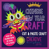 Chinese Dragon New Years Craft