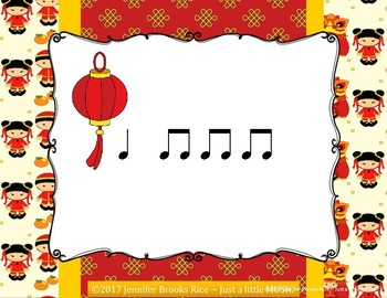 Chinese Dragon Rhythms - Interactive Reading Practice Game {ta titi}
