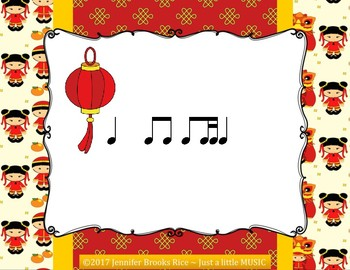 Chinese Dragon Rhythms - Interactive Reading Practice Game {ti tika}