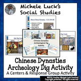 Chinese Dynasties Archeological Dig Activity World History China