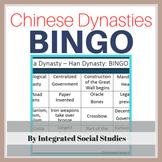 Chinese Dynasties BINGO