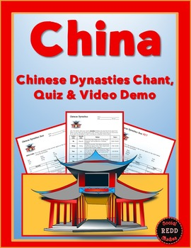 Chinese Dynasties Chant, Quiz & Video Demo