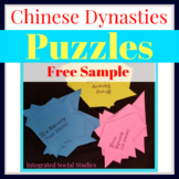 Chinese Dynasties Puzzles FREE Sample