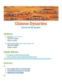 Chinese Dynasties - Resources by Dynasty