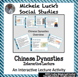 Chinese Dynasties Shang thru Han w/Confucius and Silk Road Interactive Notes