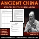 Chinese Ethical Systems Problem Solving Activity