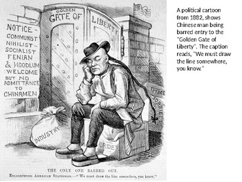Chinese Exclusion Act 1882 Source Analysis Activity