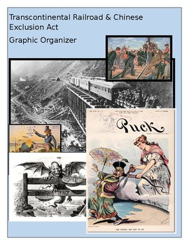 Chinese Exclusion Act and Transcontinental Railroad Graphic Organizer