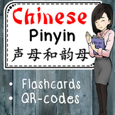 Pinyin Flashcards with QR-codes