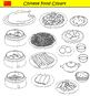 Chinese Food Clipart International Asian Food Graphics