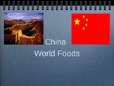 Chinese Food and Culture