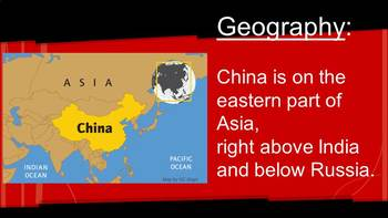 chinese geography climate and architecture powerpoint presentation