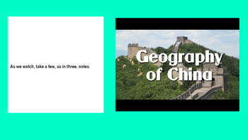Chinese Geography Power Point