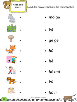 Chinese Han Yu Pin Yin (Phonics) System Part 1