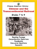 Chinese History: Chinese and the Transcontinental Railroad