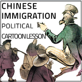 Chinese Immigration Political Cartoon Lesson
