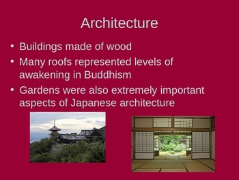 Chinese Influences on Japanese Culture