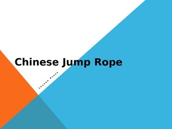 Chinese Jump Rope Activities