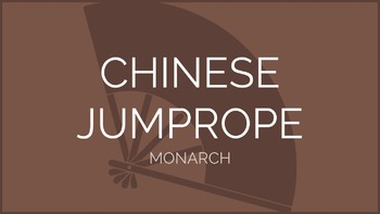 Chinese Jump Rope - Monarch Pattern   Physical Education P