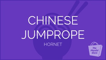 Chinese Jump Rope - Hornet Pattern | Physical Education Pr