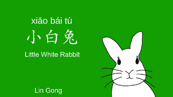 Chinese Kids Picture Book with English Translation Pinyin: