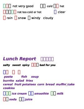 Chinese Language: Reports