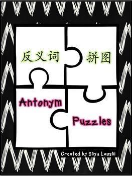 Chinese Mandarin Antonym Puzzles