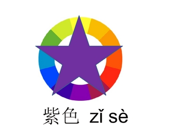 Chinese (Mandarin) Colors Powerpoint with Games and Activities