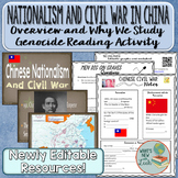 Chinese Nationalism and Civil War Between the Wars Lesson