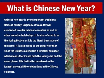 Chinese New Year Activity | Chinese New Year 2019 | Chinese New Year PowerPoint