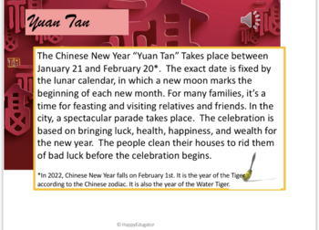Chinese New Year 2019 PowerPoint Year of the Pig