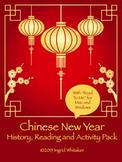 New Years Activities 2020 : Chinese New Year 2020
