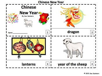 Chinese New Year 2 Emergent Reader Booklets - ENGLISH
