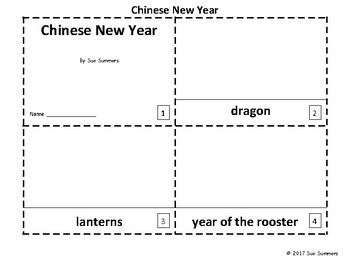 Chinese New Year 2017 2 Emergent Reader Booklets - ENGLISH - Year of the Rooster