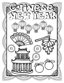 Chinese New Year Research Book