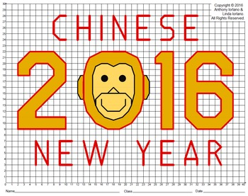 Chinese New Year 2016 Monkey Mystery Picture
