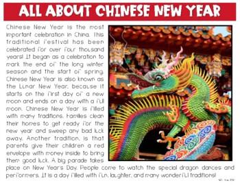 Chinese New Year 2018 Activities