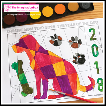 Chinese New Year 2018 Free Coloring Pages